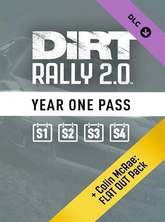 DIRT RALLY 2.0 - Year One Pass (SEASON1/2/3/4) (PC) - Steam Key - GLOBAL