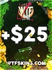WTFSkins 25 USD Code