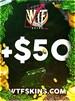 WTFSkins 50 USD Code