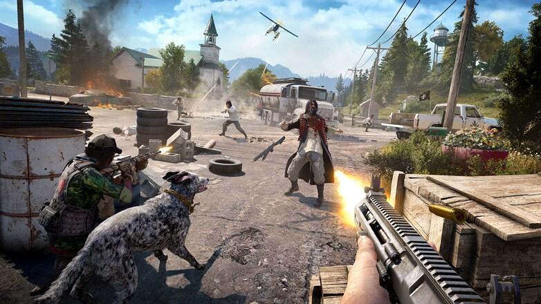 Far Cry 5 Uplay Key NORTH AMERICA - gameplay - 4
