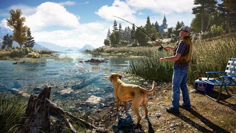 Far Cry 5 Uplay Key NORTH AMERICA - gameplay - 8