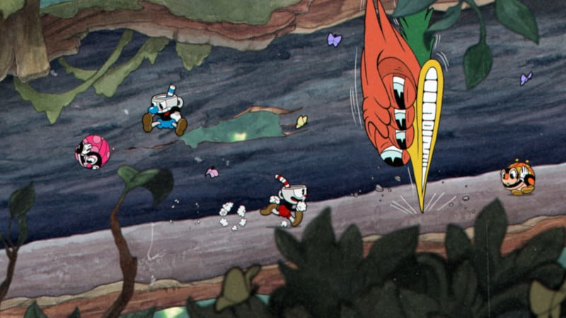 Graphics in Cuphead