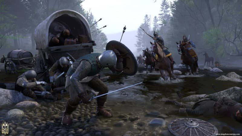 Fighting in Kingdom Come Deliverance