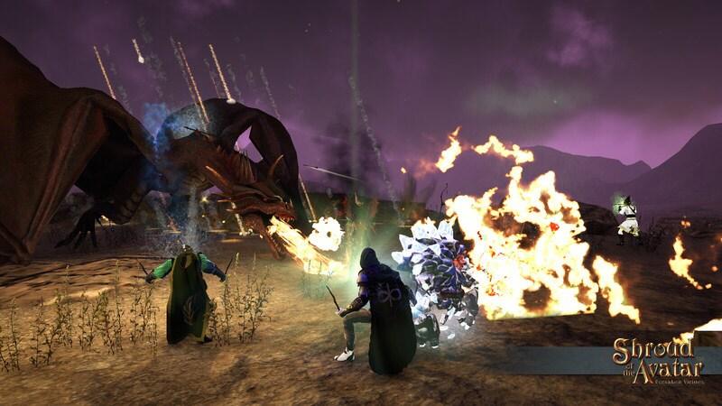 Shroud of the Avatar: Forsaken Virtues Steam Key GLOBAL - gameplay - 18
