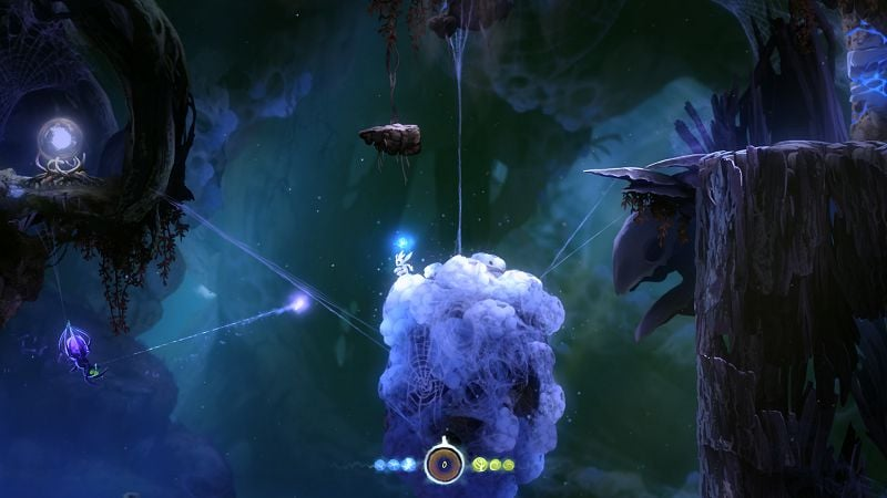 Ori and the Blind Forest: Definitive Edition Steam Key GLOBAL - gameplay - 4