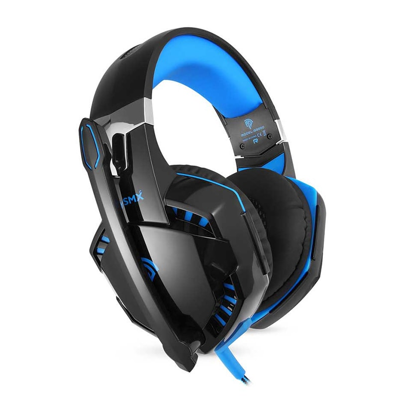 3.5mm Gaming Headset Mic LED Headphones Stereo Surround for PC PS4 Xbox ONE 360