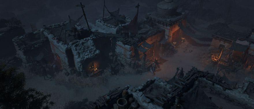 City in Diablo IV