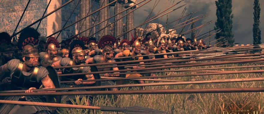 Total War 2 Rome - Legion fighting