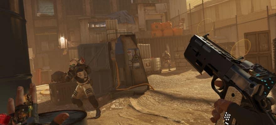 Half Life Alyx gameplay