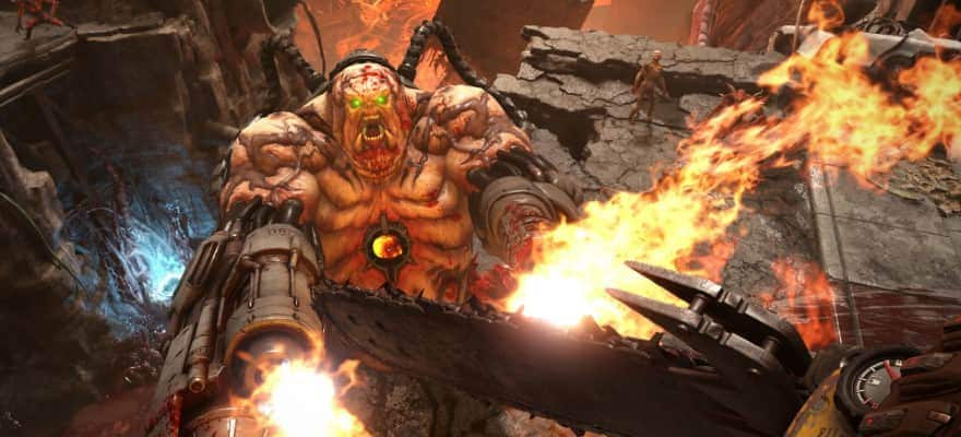 Boss in Doom Eternal