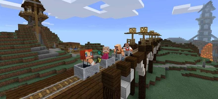 Multiplayer in Minecraft Windows 10 Edition