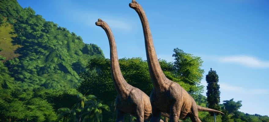 Dinosaurs in Jurassic World Evolution