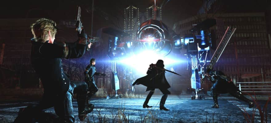 Battle in Final Fantasy 15