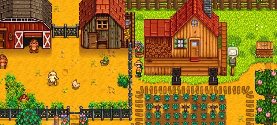 Stardew Valley farm game