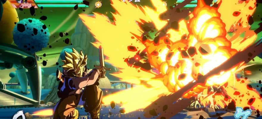 Future Trunks in FighterZ