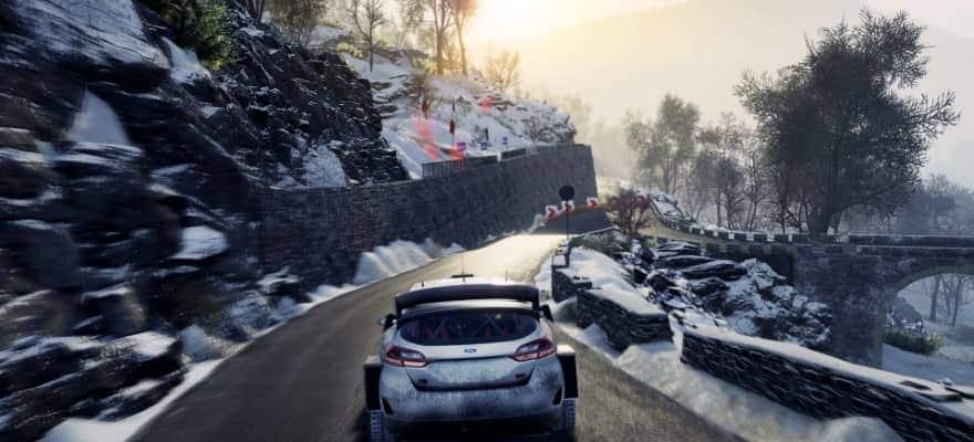 WRC 8 rally game