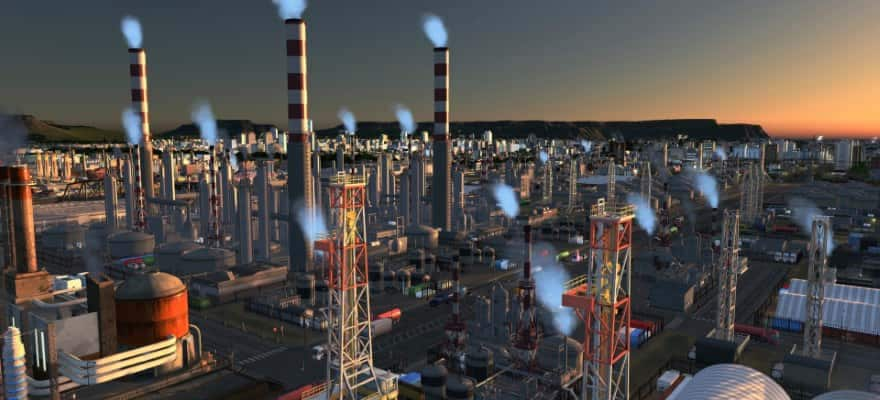 Industry in Cities Skylines