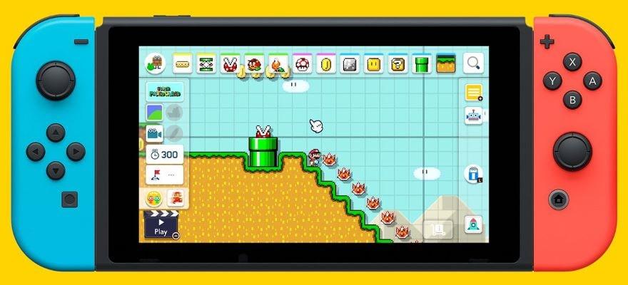 Mario Maker 2 Switch