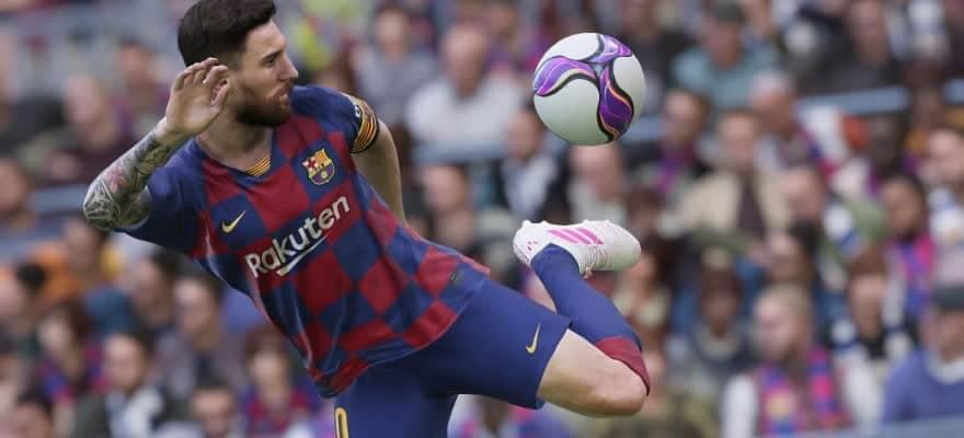 Lionel Messi in PES 2020