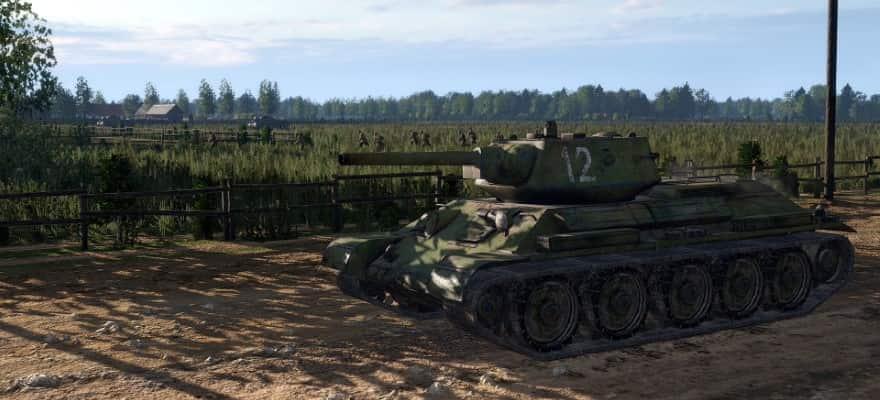 Tank in game