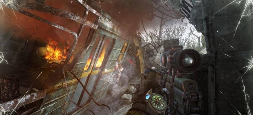 Metro 2033 graphics