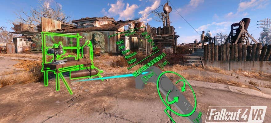Workbench in Fallout 4 VR