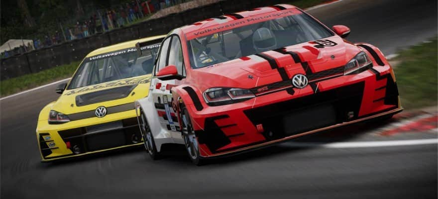 Golf GTI in GRID 2019