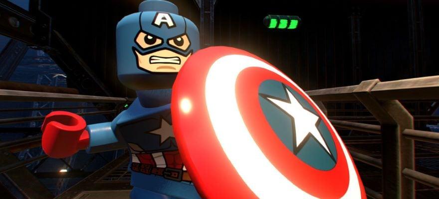 Capitan America Lego Game