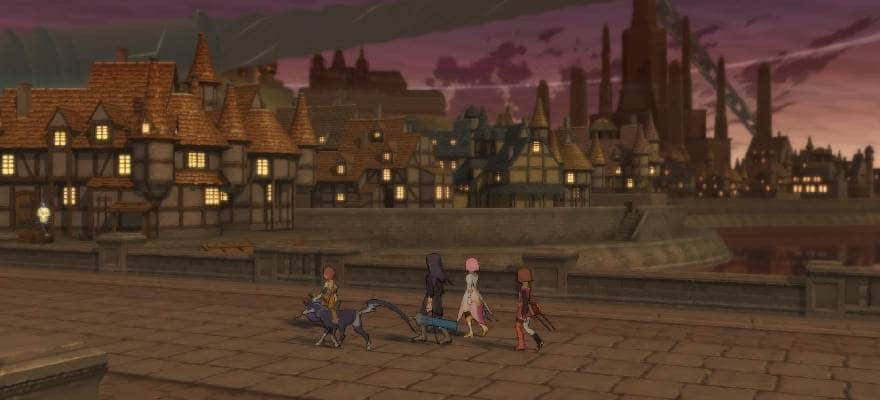 Remastered full HD Graphics in Tales of Vesteria