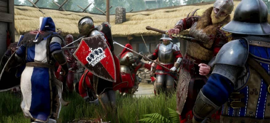 Battle Royale mode in Mordhau