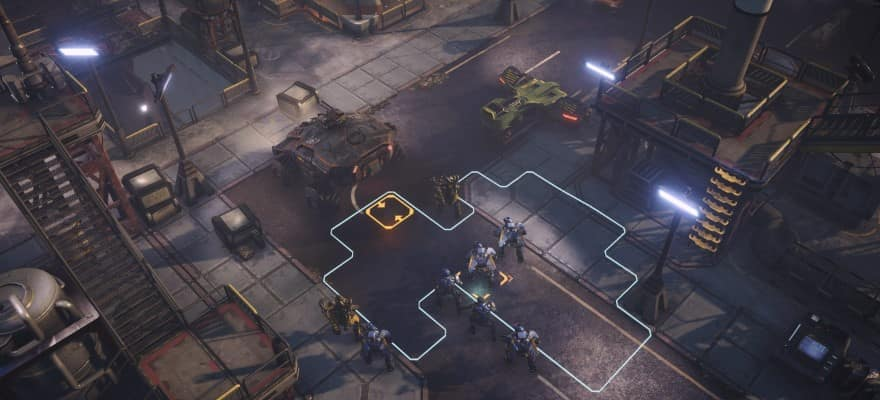 turn based combat in Phoenix Point game