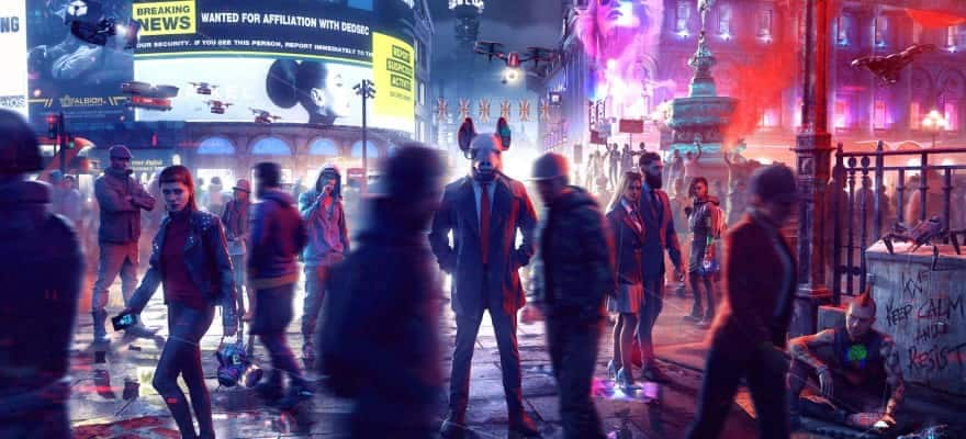 Characters in Watch Dogs Legion