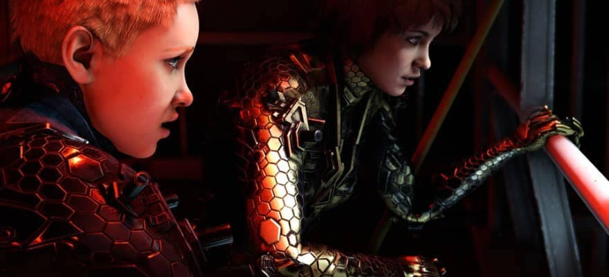 Sophia and Jessie characters in Wolfenstein Youngblood