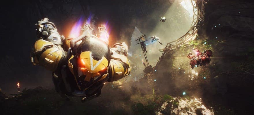 flying in anthem