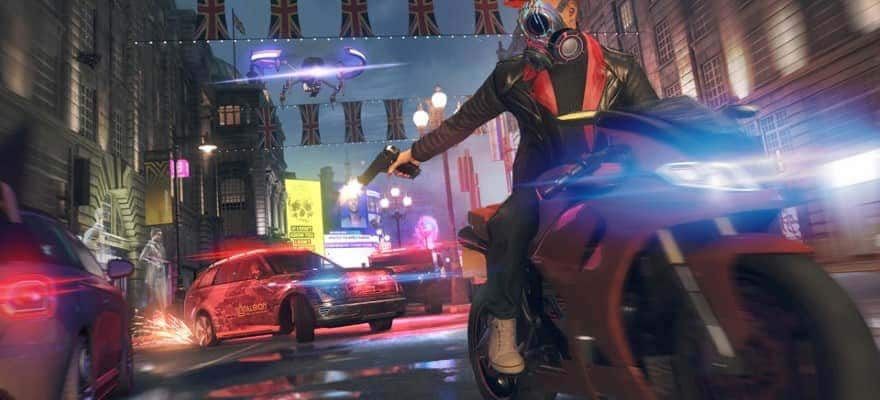 Shooting in Watch Dogs Legion