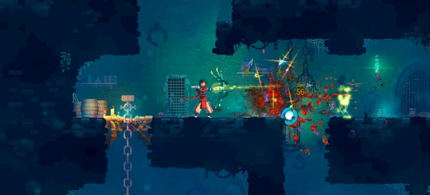 Dead Cells fighting