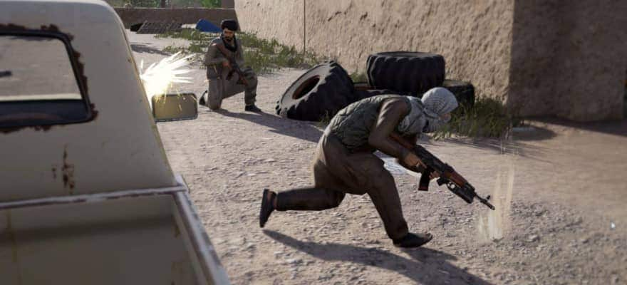 Insurgents in Squad game