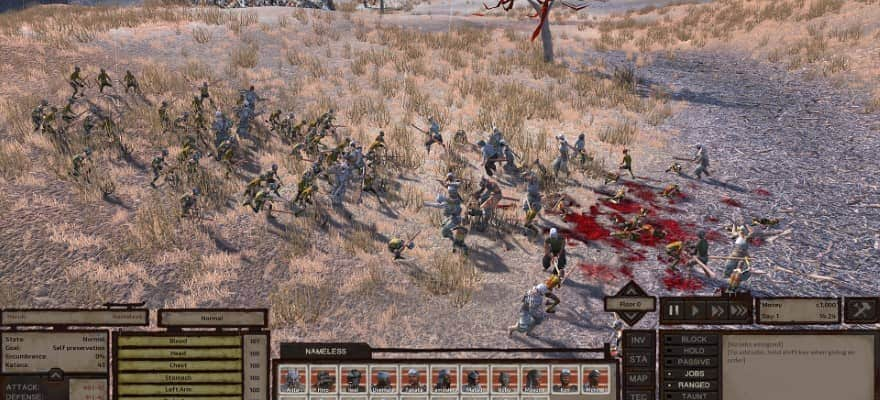 Kenshi combines RPG and RTS