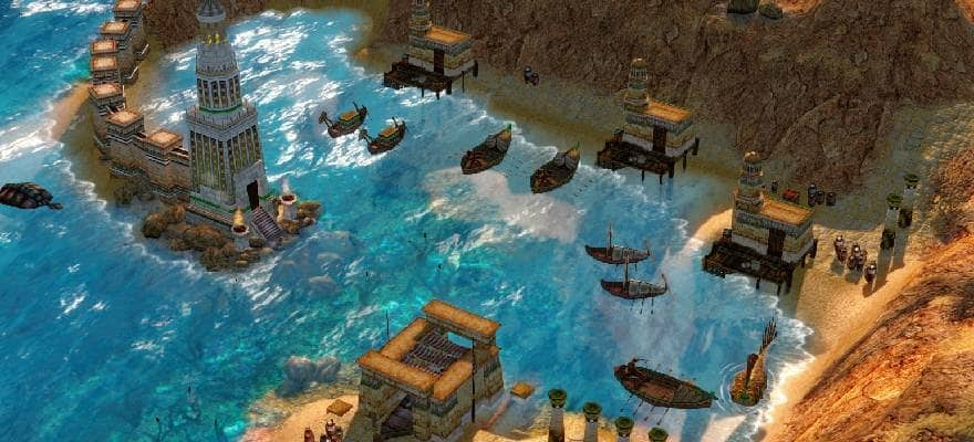 Ships in AoM game