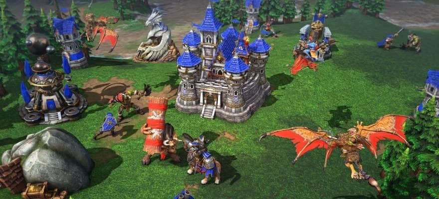 Warcraft 3 HD Graphics