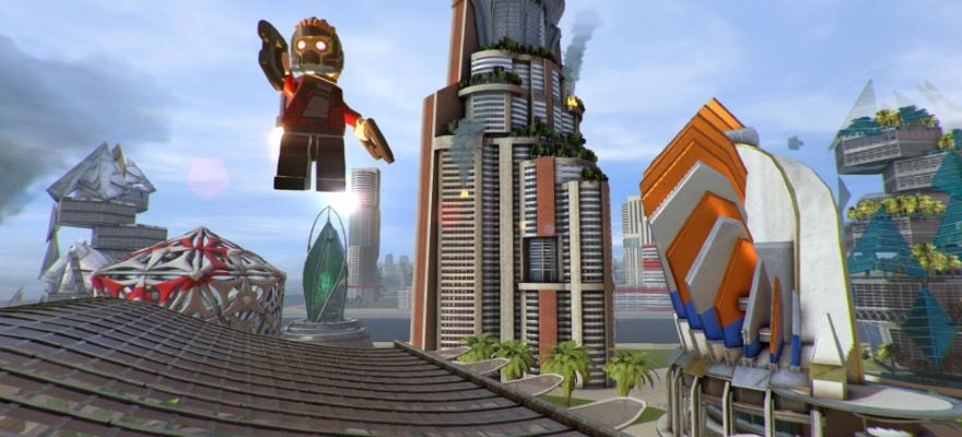 Ironman in Lego Super Heroes 2 game