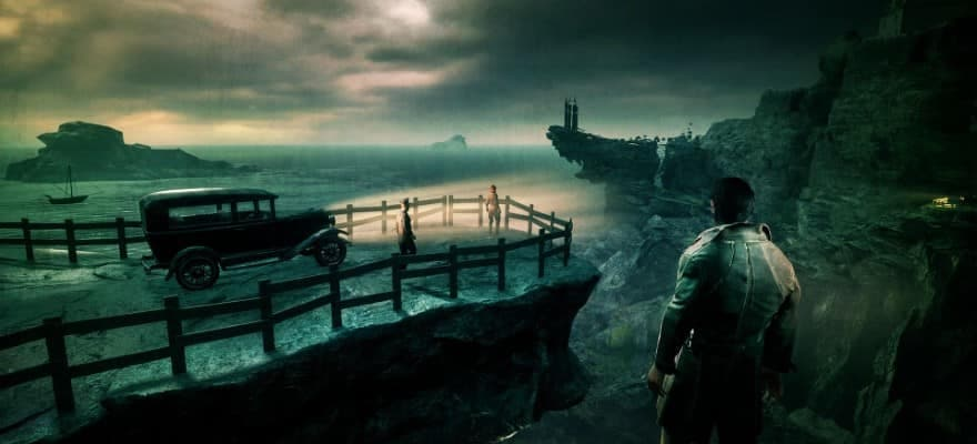 Edward Pierce in Darkwater island