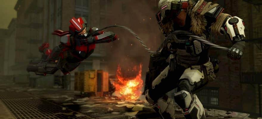 XCOM2 units fighting