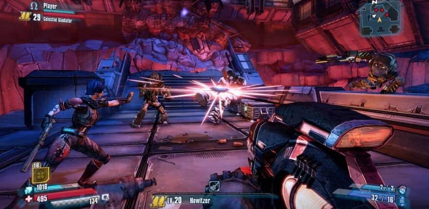 Borderlands Pre-Sequel game graphics