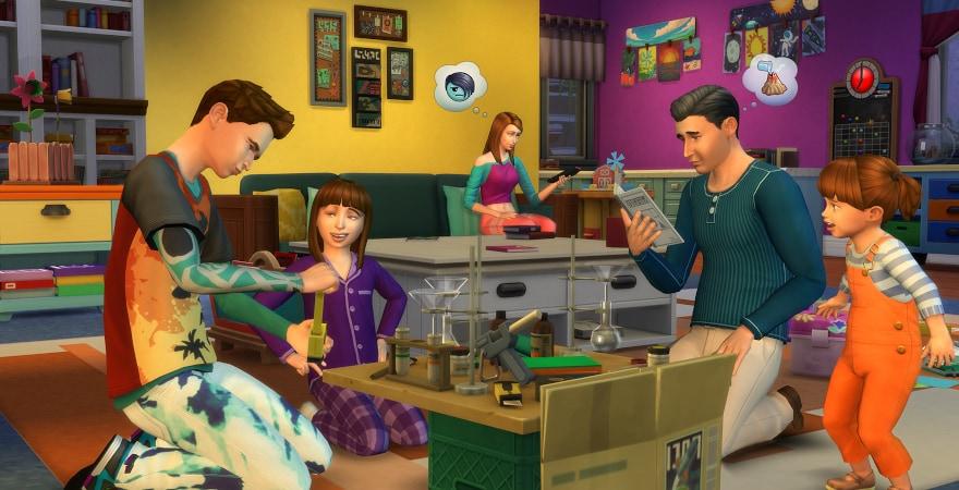 Sims IV Parenthood