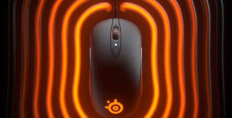 SteelSeries Sensei Ten - Gaming Mouse - Black