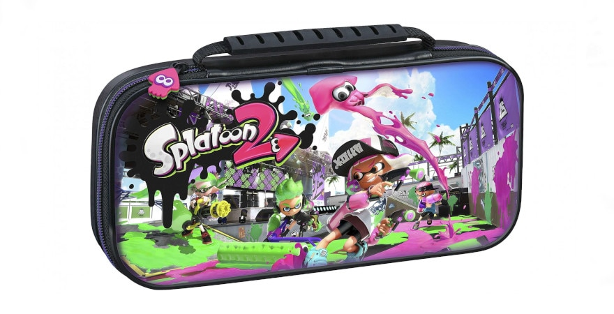 Nintendo Switch BigBen Game Traveler Deluxe Case Splatoon 2