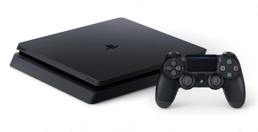 Sony Playstation 4 Slim 1TB - PS4 Console - Black