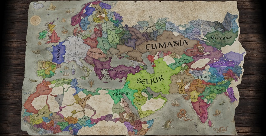 Crusader Kings III MAP