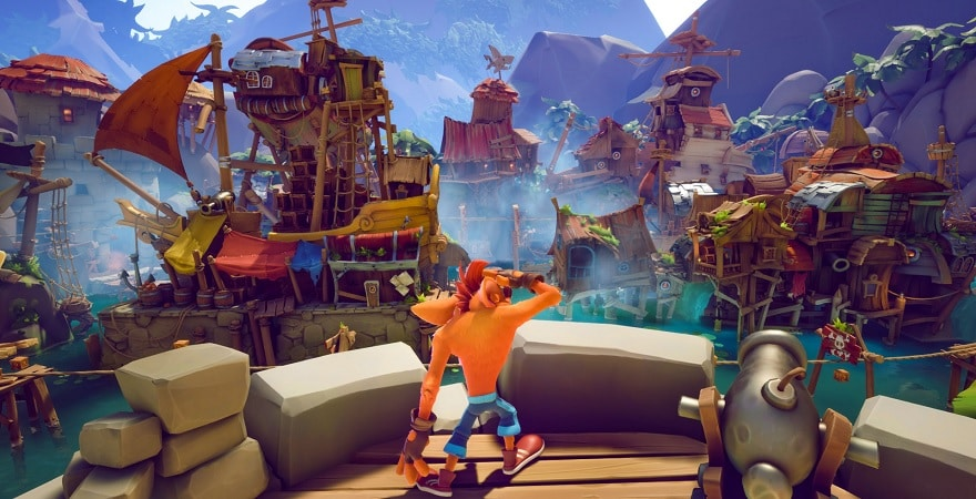 Crash Bandicoot 4: It's About Time new graphics